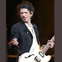 Keith Richards <br/> (June 19, 1992)